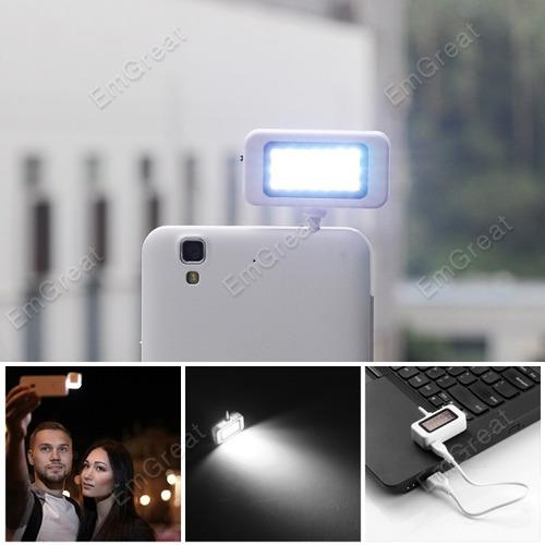 luz led para fotos de celulares