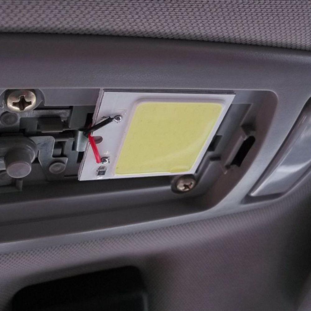 Luz led para interior coche auto t10 4w 12v en mercado libre - Poner luz interior coche ...