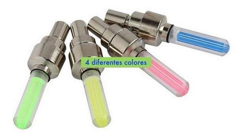 luz led para llanta de bicicleta incluye pilas, pivote stick
