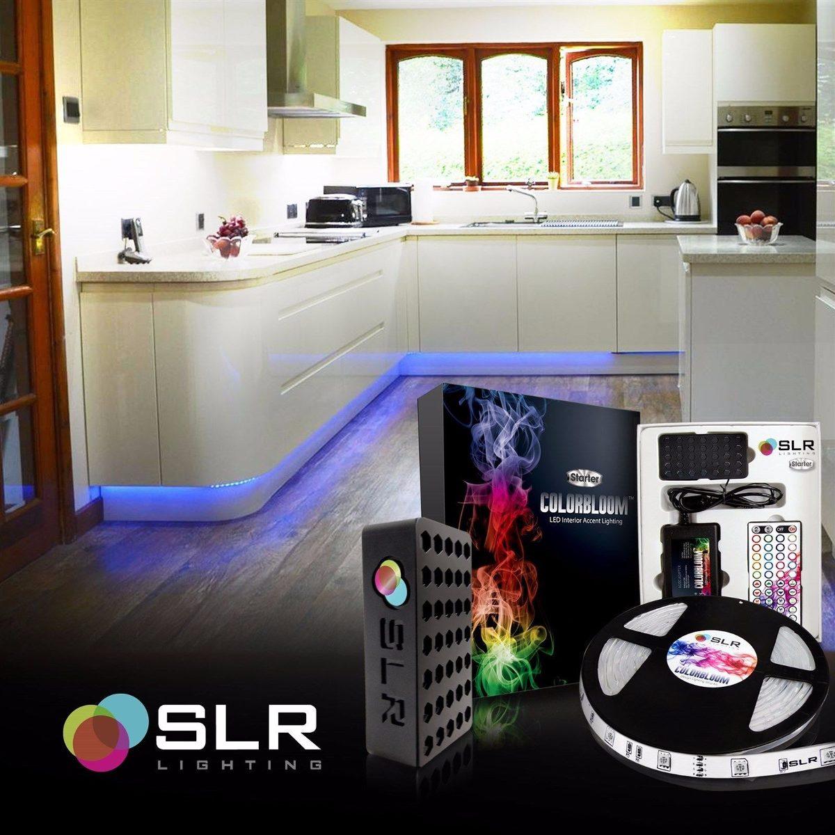 Luz led para muebles oficina bar cocinas integrales for Luces led a pilas para armarios