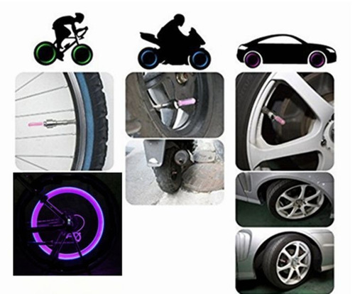 luz led para piton bicicleta moto llantas aro ciclismo foco