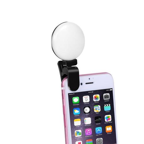 luz led para selfie 2 modelos  (mini aro de luz)