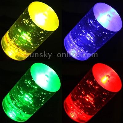 luz led rgb e27 3w flash cristal mando distancia 110-220v