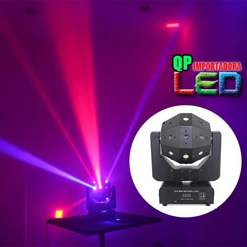 luz led robotica armadura 360 grados dmx disco-bar eventos