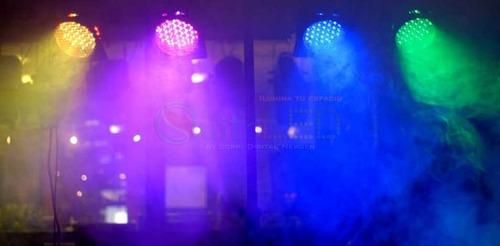 luz led robotica  dmx - rgb - cabeza movil auto new