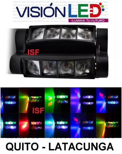 luz led robótica doble spider dmx ideal para bar ò discoteca