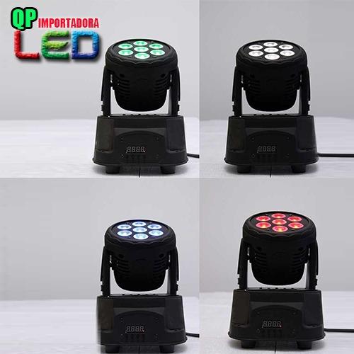 luz led robotica luces dmx ideal para bar discoteca eventos