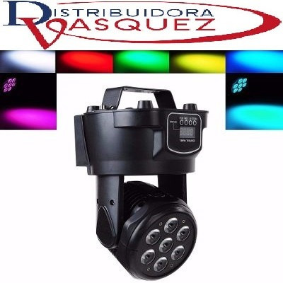 luz led robótica multicolor inteligente dmx  bar ò discoteca