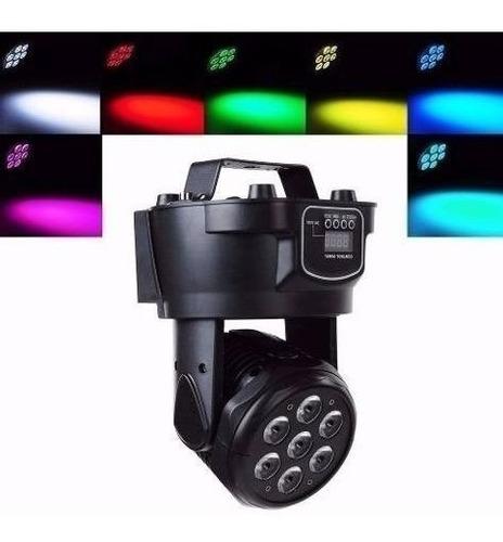 luz led robotica profesional dmx cabeza giratoria progrmable