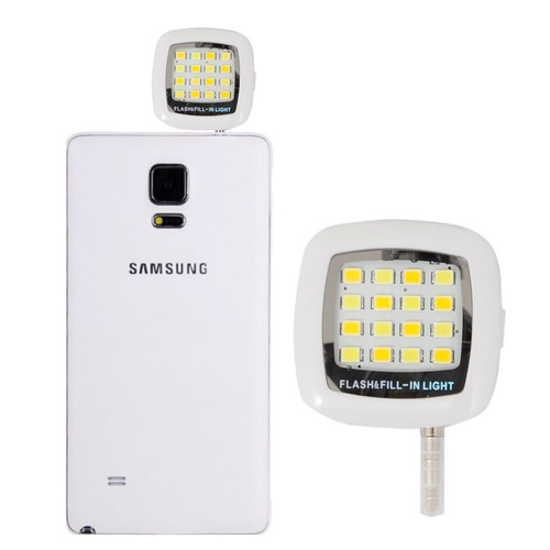 luz led selfie celular flash