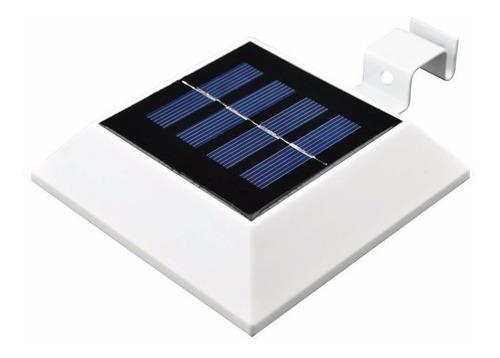 luz led solar cuadrada de 4 leds mimall