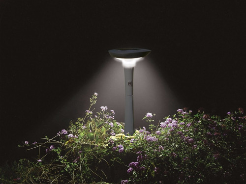 luz led solar de jardín senderos intex 28689
