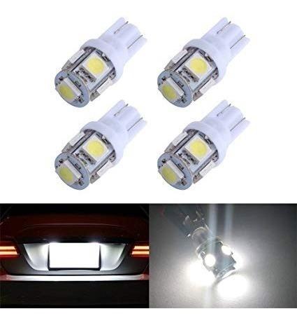 luz led t10 tuning autos motos posicion matricula pack x 2