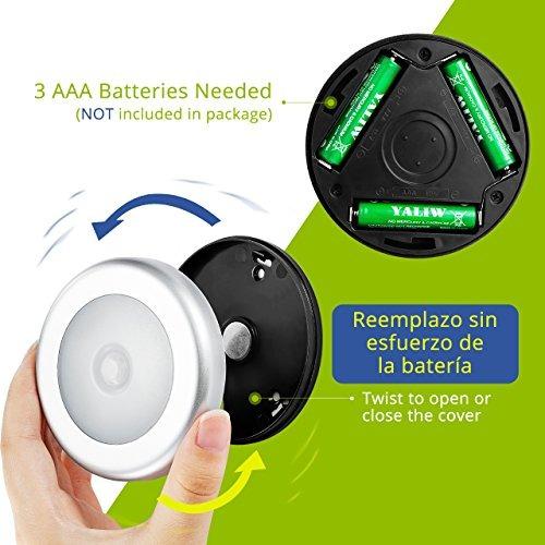 luz led x3 sensor movimiento lampara emergencia envio gratis