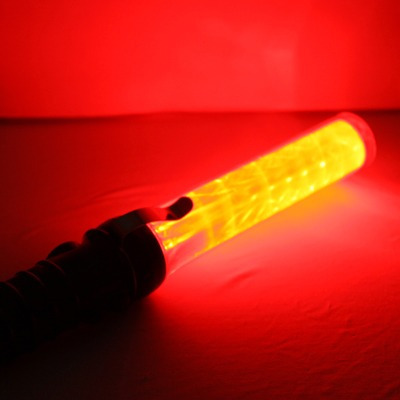 luz linterna advertencia strobe safety traffic 53.5cm