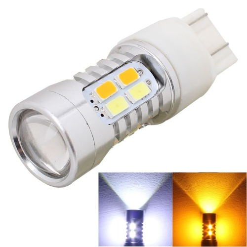 luz linterna freno pcs lm yellow white light dual wir -led