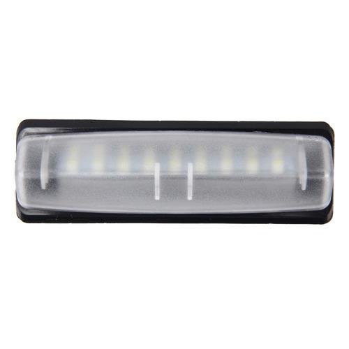 luz linterna placa auto 2 pcs piloto matricula 18 blanca