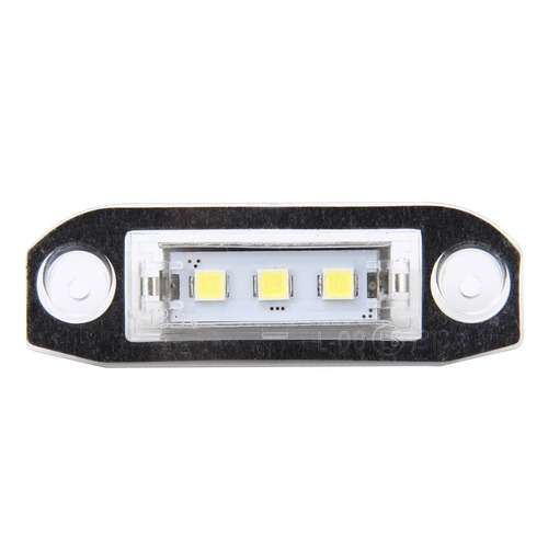 luz linterna placa auto 2 pcs piloto matricula 3 lampara