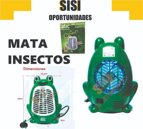 luz mata mosquitos dengue e insectos  invento util cuotas