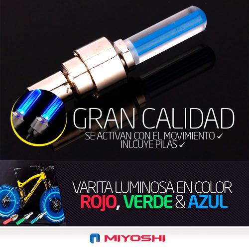 luz moto rueda luces led kit colores llantas hacete ver !