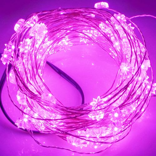 luz navidad 5 lm led smd- cadena festival lampara verde