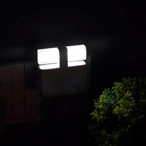 luz nocturna led noche pared control automático galaxy niños
