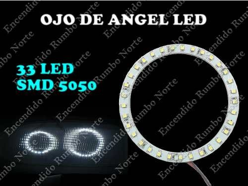 luz ojo angel 33 led blanco simil xenon tuning alto brillo