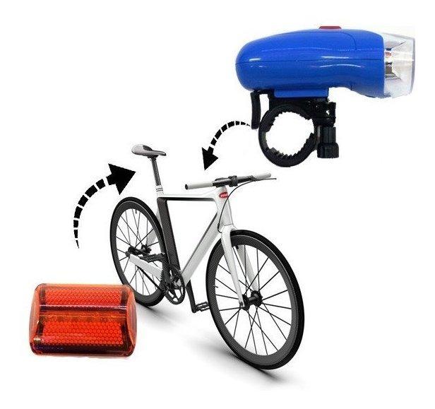 Luces LED delanteras y traseras para bicicletas