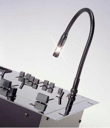 luz para consola numark bnc cuello de ganso 12