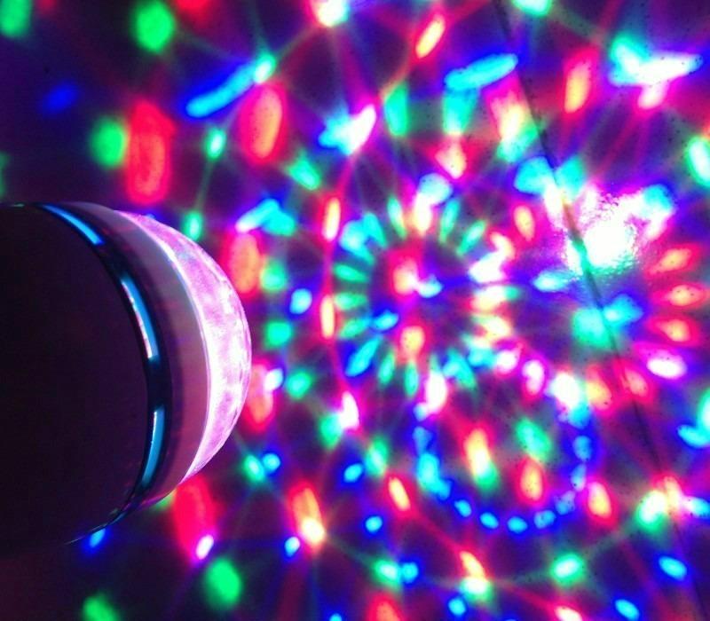 luz para discoteca lampara led efecto disco novedad