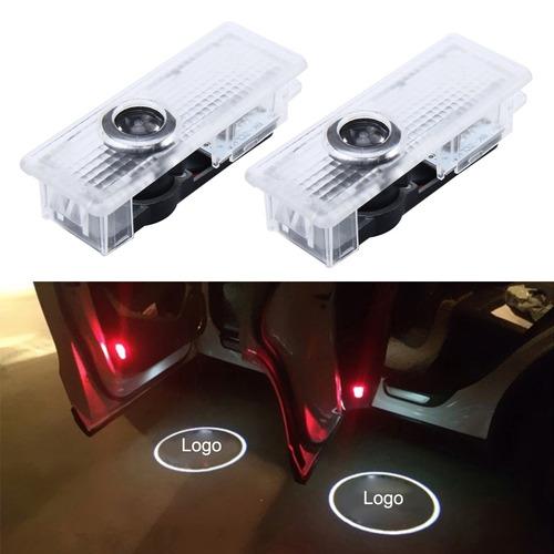 luz para vehiculo puerta 2 pcs led agradable insignia bmw