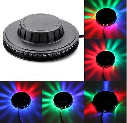 luz platillo led bar discoteca dj fiestas envio gratis !!