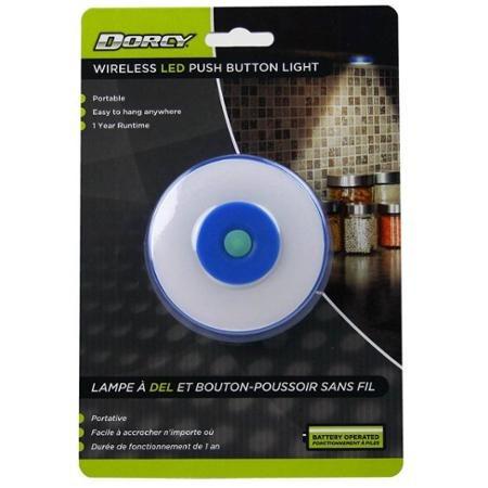 luz portátil led zona de dorcy 41-1067 con botón y