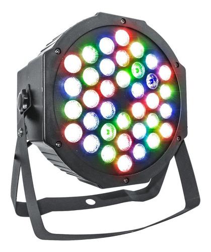 luz proton par 36 luces dj audioritmica dmx iluminacion led