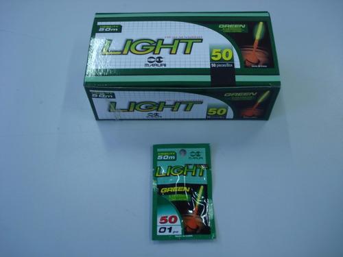 luz química maruri power light 6.0x50mm - caixa com 50 un