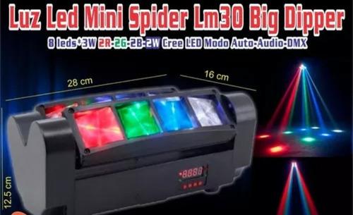 luz robótica led tipo spider