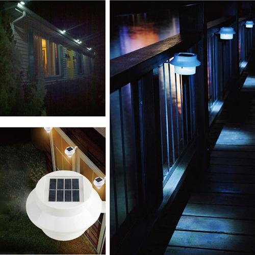 luz rua solar ao ar livre solar led luz lâmpada de parede 3