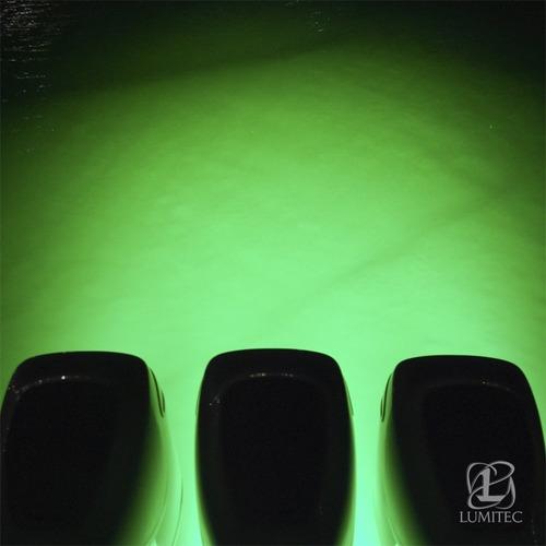 luz subaquática seablaze3 lumitec para barcos e piscinas