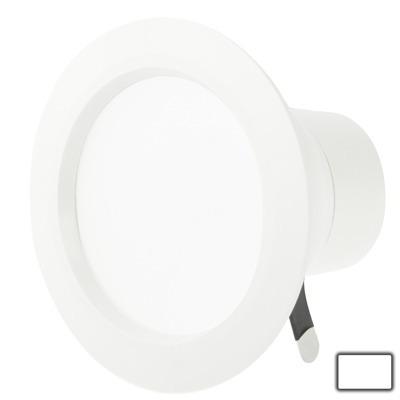 luz techo downlight blanca led abajo ca 5