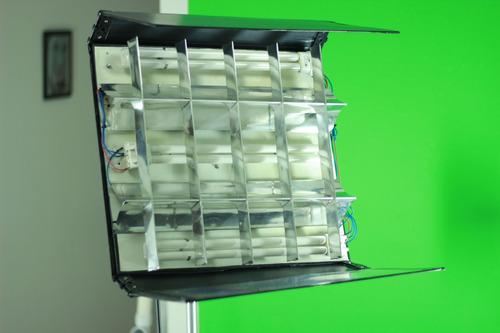 luz tipo kinoflo powerflo pampa dexel cine video