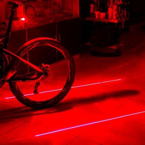luz traseira led bicicleta com ciclovia virtual sinalizador