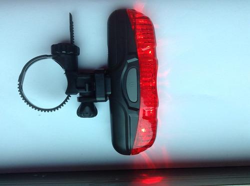 luz  trasera 5 led bicicleta alta calidad 3 modo alto brillo