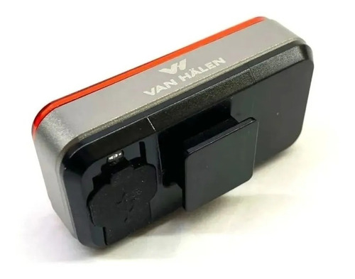 luz trasera automatica recargable usb van halen led soporte