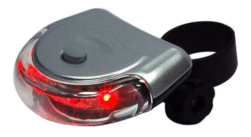 luz trasera bicicleta 5 led 3 funciones xingcheng xc-767t