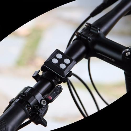 luz trasera para bicicleta con direccionales control remoto