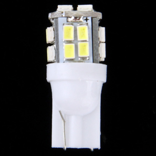 luz white led car signal light bulb pair pair