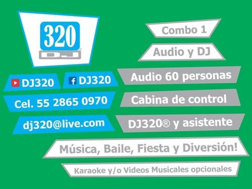 luz y sonido cdmx df karaoke dj para fiestas bodas xv años