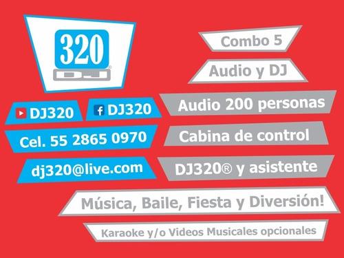 luz y sonido karaoke dj para fiestas df cdmx bodas xv años