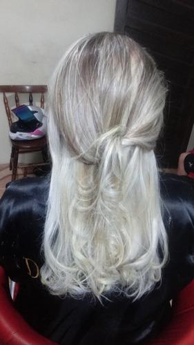 luzes em cabelo mechas loiras cabelo loiro