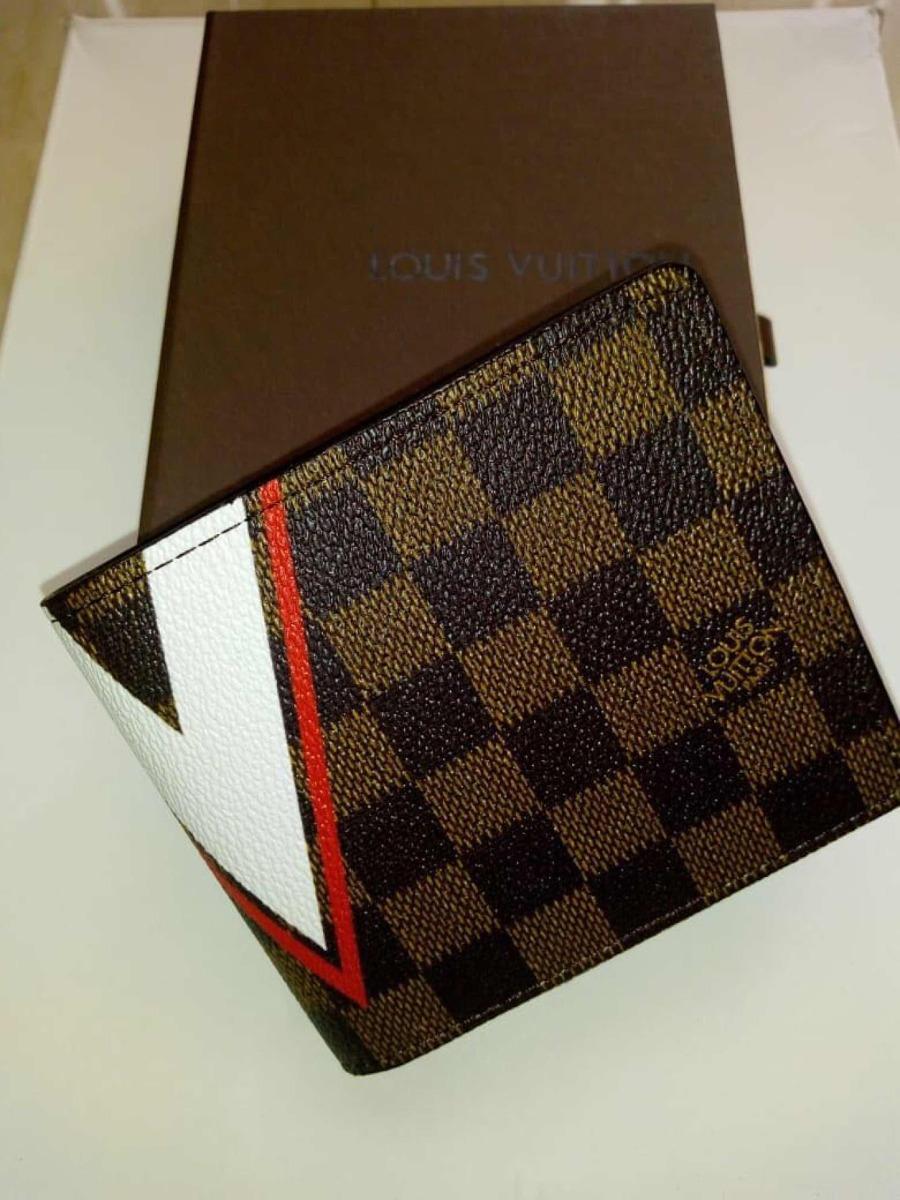 4b9df89e9 Lv Billetera Caballero Louis Vuitton Colección 2019 Lv - $ 70.000 en ...
